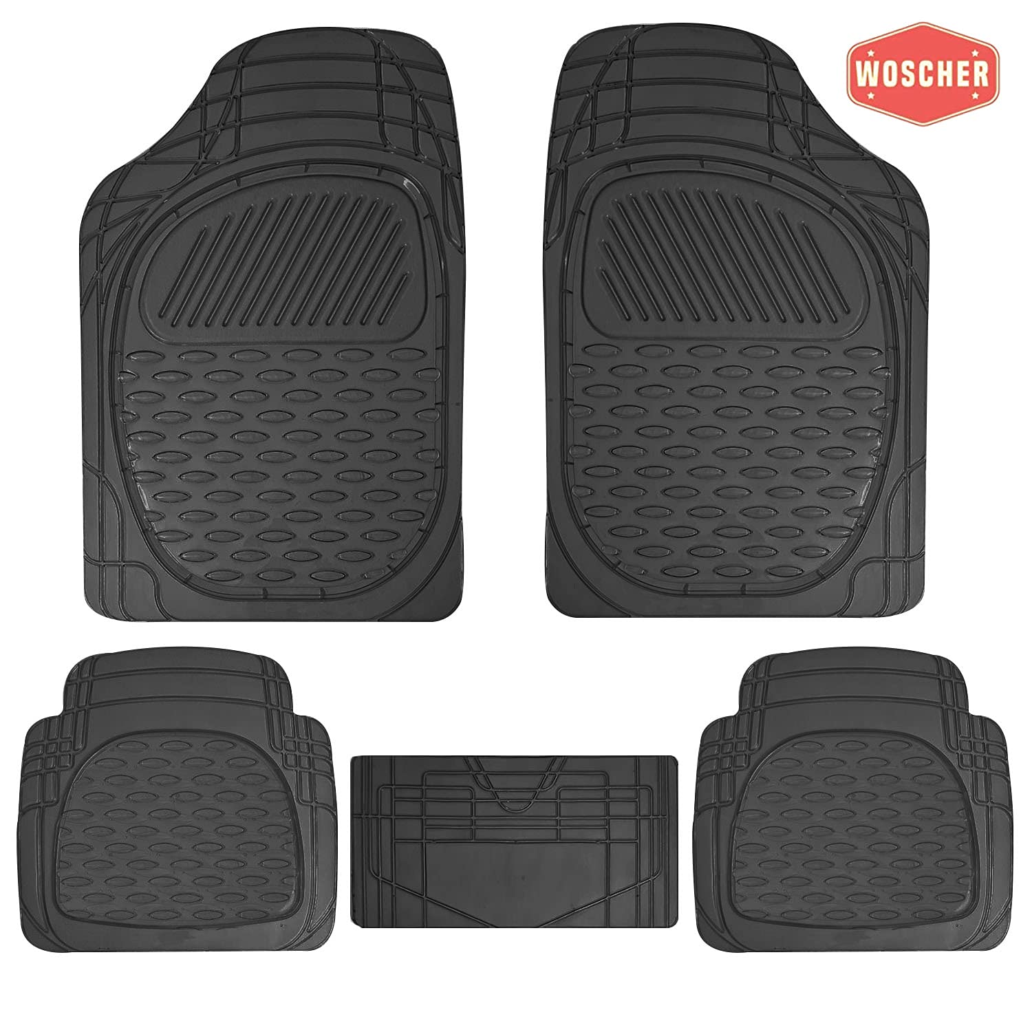 woscher-6255-felxtough-all-season-rubber-floor-car-mat-for-car-suv-universal-self-cut-to-perfectly-fit-black