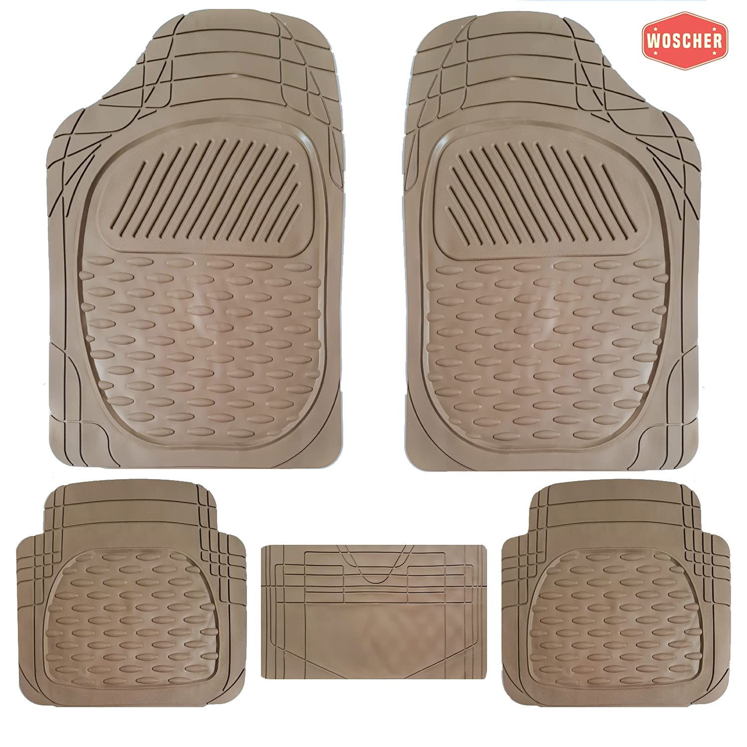 woscher-6255-felxtough-all-season-rubber-floor-car-mat-for-car-suv-universal-self-cut-to-perfectly-fit-beige