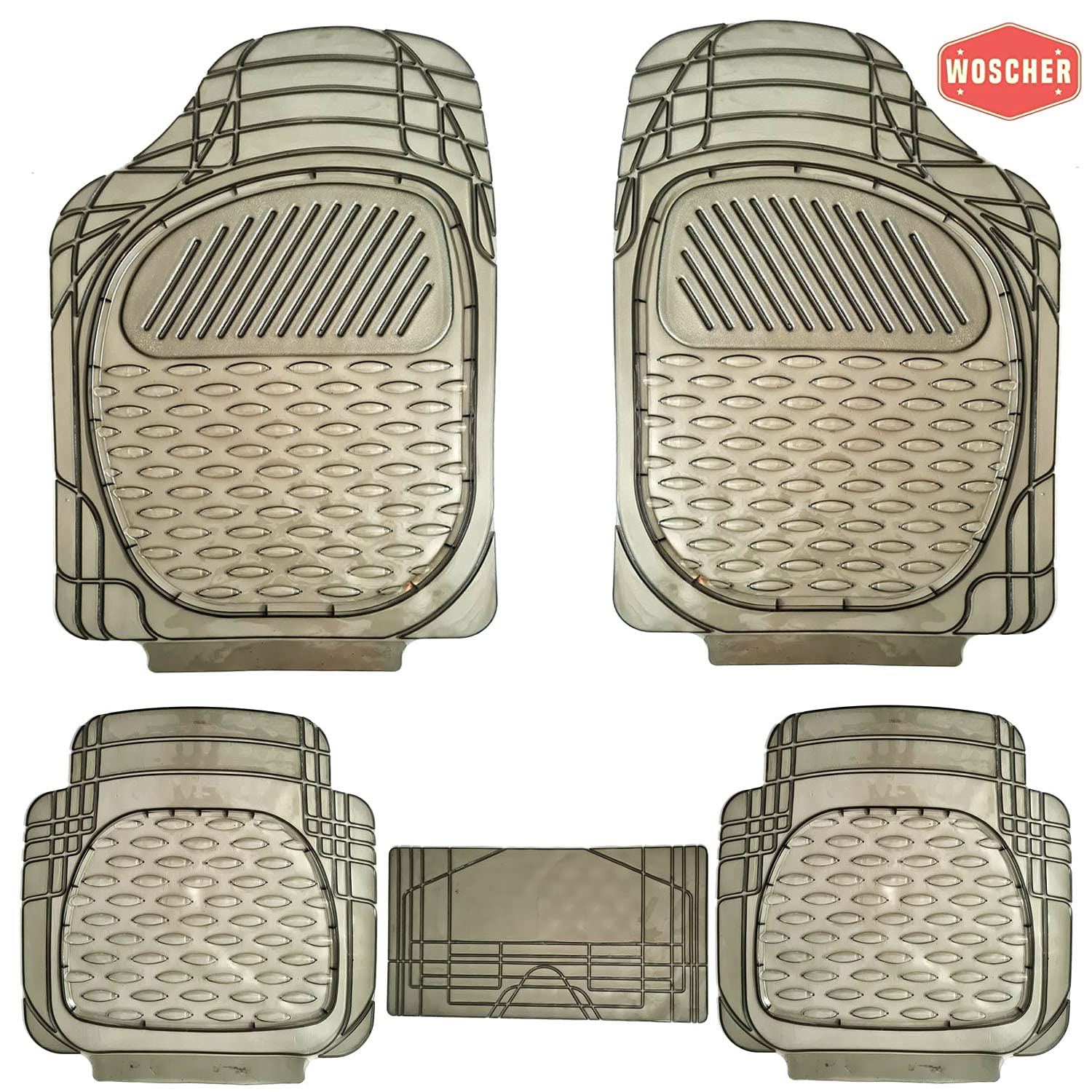 woscher-6255-felxtough-all-season-rubber-floor-car-mat-for-car-suv-universal-self-cut-to-perfectly-fit-smoke