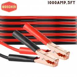 woscher-heavy-duty-1-gauge-ultra-1000-amp-100-copper-wire-jumper-cable-booster-cable-for-car-battery-bike-battery-truck-battery-anti-frozen-heat-insulation-jump-leads-with-free-carry-bag-size-5ft