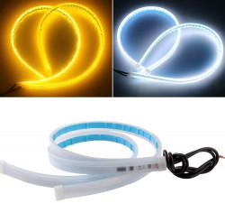 led-strip-lights-for-cars-led-headlight-strip-for-daytime-running-lights-turn-signal-bulb-audi-light-drl-sequential-switchback-led-strip-amber-yellow-white-2pcs-60cm-24-inch